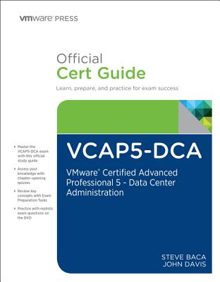 VCAP5-DCA Official Cert Guide - Baca, Steve