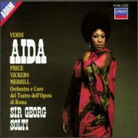 Verdi: Aida - Franco Ricciardi (tenor); Giorgio Tozzi (bass); Jon Vickers (tenor); Leontyne Price (soprano); Plinio Clabassi (bass);...