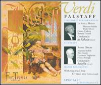Verdi: Falstaff - Anna Maria Canali (vocals); Augusta Oltrabella (soprano); Beniamino Gigli (tenor); Cesare Valletti (vocals);...