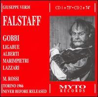 Verdi: Falstaff - Agostino Lazzari (vocals); Anna Maria Canali (vocals); Carlo Bergonzi (vocals); Florindo Andreolli (vocals);...