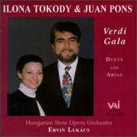 Verdi Gala: Duets and arias - Ilona Tokody (vocals); Juan Pons (vocals); Hungarian State Opera Orchestra; Ervin Lukacs (conductor)