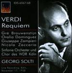 Verdi: Messa da Requiem [1958 Live Recording]
