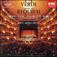 Verdi: Messa da Requiem - Cheryl Studer (soprano); Dolora Zajick (mezzo-soprano); Luciano Pavarotti (tenor); Samuel Ramey (bass);...