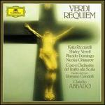 Verdi: Requiem - Katia Ricciarelli (soprano); Nicolai Ghiaurov (bass); Plácido Domingo (tenor); Shirley Verrett (mezzo-soprano); La Scala Theater Corps de Ballet (choir, chorus); La Scala Theater Symphony Orchestra; Claudio Abbado (conductor)