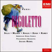 Verdi: Rigoletto - Alan Watt (vocals); Alfredo Kraus (tenor); Ann Murray (vocals); Beverly Sills (soprano); Dennis O'Neill (vocals);...