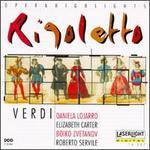 Verdi: Rigoletto - Boiko Zvetanov (tenor); Daniela Lojarro (soprano); Denes Gulyas (tenor); Elizabeth Carter (soprano); Gisella Pasino (mezzo-soprano); Giuseppe Sabbatini (tenor); Lajos Miller (baritone); Marco Chingari (baritone); Roberto Servile (bass)