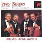 Verdi/Sibelius: String Quartets