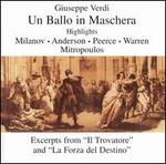 Verdi: Un Ballo in Maschera [Highlights]