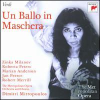 Verdi: Un ballo in maschera - Calvin Marsh (vocals); Charles Anthony (vocals); Giorgio Tozzi (vocals); James McCracken (vocals); Jan Peerce (vocals);...