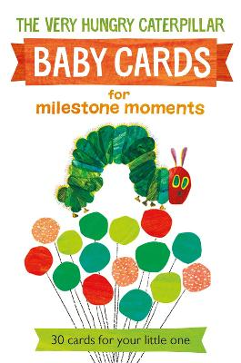 Very Hungry Caterpillar Baby Cards: for Milestone Moments -