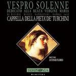Vespro Solenne dedicato alla Beata Vergine Maria