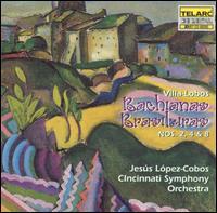 Villa-Lobos: Bachiana Brasileiras Nos. 2, 4 & 8 - Eric Kim (cello); Cincinnati Symphony Orchestra; Jesús López-Cobos (conductor)