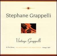 Vintage Grappelli - Stéphane Grappelli