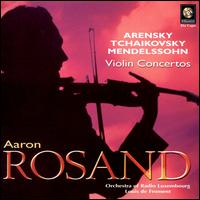Violin Concertos - Aaron Rosand (violin); Luxembourg Radio Orchestra; Louis de Froment (conductor)