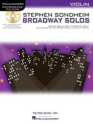 Violin Play-Along: Stephen Sondheim - Broadway Solos -