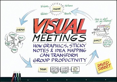 Visual Meetings: How Graphics, Sticky Notes & Idea Mapping Can Transform Group Productivity - Sibbet, David