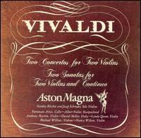 Vivaldi: Concertos & Sonatas for 2 Violins - Jaap Schröder (violin); Music from Aston Magna; Stanley Ritchie (violin); Albert Fuller (conductor)