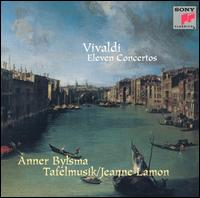 Vivaldi: Eleven Concertos - Anner Bylsma (cello); Christina Mahler (cello); David Greenberg (violin); Jeanne Lamon (violin); John Abberger (oboe);...