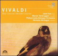 Vivaldi: Flute Concetos; Recorder Concertos - Dennis L. Godburn (bassoon); Janet See (flute); Marion Verbruggen (recorder); Nicholas McGegan (harpsichord);...