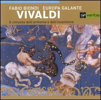 Vivaldi: Il cimento dell'armonia e dell'inventione - Fabio Biondi (violin); Europa Galante; Fabio Biondi (conductor)