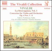 Vivaldi: La Stravaganza, Vol. 1 - Andrew Watkinson (violin); City of London Sinfonia; Nicholas Kraemer (conductor)