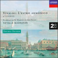 Vivaldi: L'estro Armonico - Alan Loveday (violin); Carmel Kaine (violin); Christopher Hogwood (harpsichord); Colin Tilney (organ); Iona Brown (violin);...