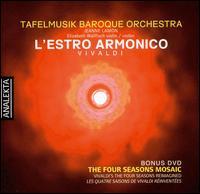 Vivaldi: L'Estro Armonico - Allen Whear (cello); Christina Mahler (cello); Christopher Verrette (violin); Elizabeth Wallfisch (violin);...