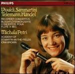 Vivaldi, Sammartini, Telemann, H?ndel: Recorder Concertos