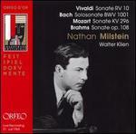 Vivaldi: Sonate RV 10; Bach: Solosonate BWV 1001; Mozart: Sonate KV 296; Brahms: Sonate Op. 108