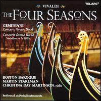 Vivaldi: The Four Seasons - Christina Day Martinson (violin); Boston Baroque; Martin Pearlman (conductor)