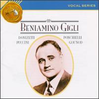 Vocal Series: Beniamino Gigli - Beniamino Gigli (tenor); Lucrezia Bori (soprano)