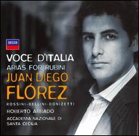 Voce d'italia: Arias for Rubini - Filippo Adami (vocals); Juan Diego Flórez (tenor); Ugo Guagliardo (vocals);...
