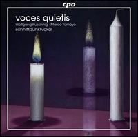 Voces Quietis - Marco Tamayo (guitar); Schnittpunktvocal; Wolfgang Puschnig (saxophone)