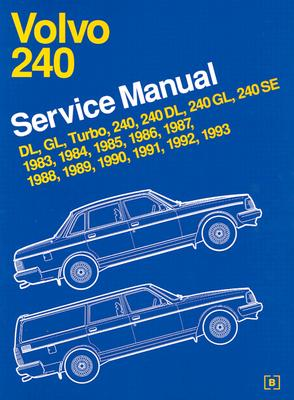volvo 240 service manual 1983 1993 book by bentley publishers rh alibris com 1987 Volvo DL 1983 Volvo 242 DL