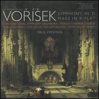 Vorisek: Symphony in D; Mass in B-Flat - Patrice Michaels (soprano); Peter Van de Graaff (bass); Tami Jantzi (mezzo-soprano); William Watson (tenor);...