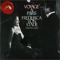 Voyage à Paris - Frederica Von Stade (mezzo-soprano); Jean Giraudoux (lyre); Martin Katz (piano)