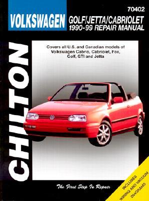 VW-Golf/Jetta/Cabriolet 1990-98 - Chilton Automotive Books, and Chilton