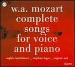 W.A. Mozart: Complete Songs for Voice and Piano
