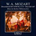 W. A. Mozart: Divertimenti KV 439b; Duos KV 487