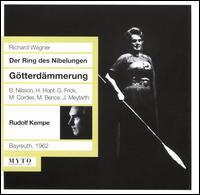 Wagner: Der Ring des Nibelungen - Götterdämmerung (Bayreuth, 1962) - Birgit Nilsson (vocals); Elisabeth Schartel (vocals); Elisabeth Schwarzenberg (vocals); Gertraud Hopf (vocals);...