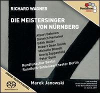 Wagner: Die Meistersinger von Nürnberg - Albert Dohmen (baritone); Annerose Hummel (alto); Christine Lichtenberg (alto); Christoph Leonhardt (tenor);...