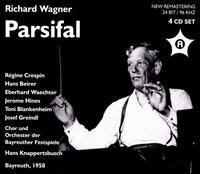 Wagner: Parsifal - Claudia Hellmann (vocals); Eberhard Wächter (vocals); Friedl Pöltinger (vocals); Gerhard Stolze (vocals);...