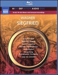 Wagner: Siegfried - David Cangelosi (tenor); Deborah Humble (mezzo-soprano); Falk Struckmann (bass baritone); Heidi Melton (soprano); Matthias Goerne (bass baritone); Simon O'Neill (tenor); Werner van Mechelen (bass baritone); Hong Kong Philharmonic Orchestra