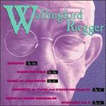 Wallingford Riegger: Romanza Op. 56a; Dance Rhythyms Op. 58a; Music for Orchestra Op. 50; etc.