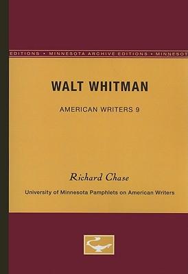 Walt Whitman - Chase, Richard