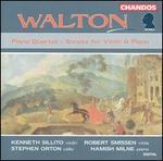Walton: Piano Quartet; Sonata for Violin & Piano