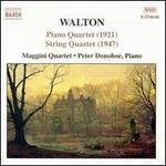 Walton: Piano Quartet; String Quartet