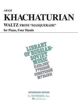Waltz from Masquerade (Vaap Edition): Piano Duet - Khachaturian, Aram (Composer)