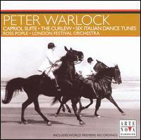 Warlock: Capriol Suite; The Curlew; Six Italian Dance Tunes - Alison Alty (horn); Amanda Smith (violin); Edward Beckett (flute); Ferenc Szucs (cello); Martyn Hill (tenor);...