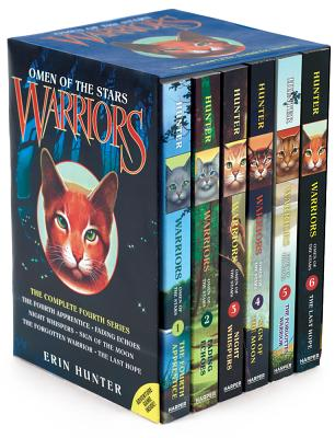 Warriors: Omen of the Stars Box Set: Volumes 1 to 6 - Hunter, Erin L